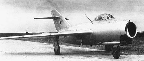 Фронтовой истребитель миг-15бис (са).