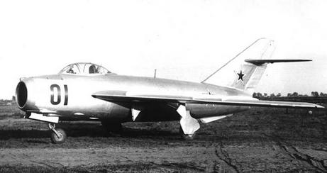 Фронтовой истребитель миг-17 (и-330, си).