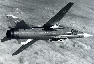 Фронтовой истребитель миг-23с.