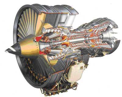 Газотурбинный двигатель самолета. фото. строение. характеристики.