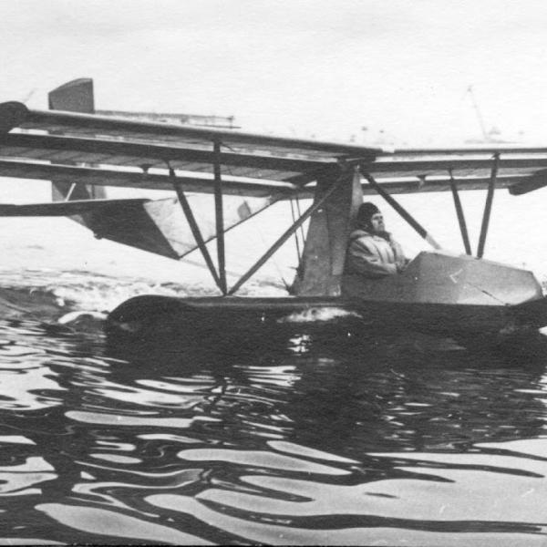 Гидропланер бро-17 «уточка».