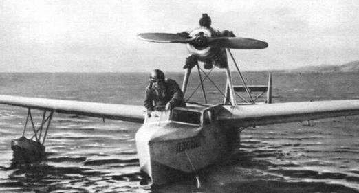 Гидросамолет для подводных лодок спл (осга-101).