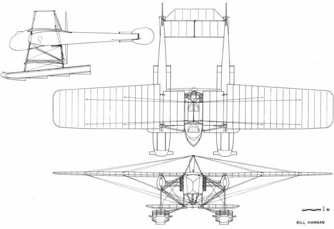 Гидросамолет из картона. опытный боевой гидросамолет компании nieuport. франция, 1913 г.