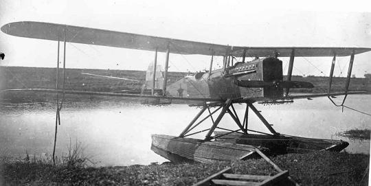 Гидросамолет-разведчик мр-1.