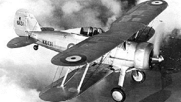 Gloster gladiator. фото. характеристики