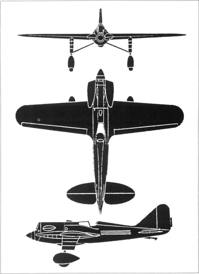 Гоночные и рекордные самолеты компании bernard. часть 3 рекордный самолет sab v-4
