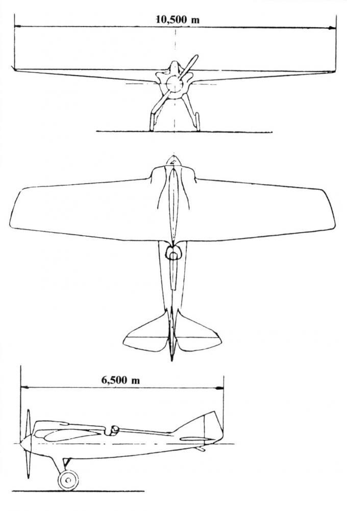 Гоночные и рекордные самолеты компании bernard. часть 1 гоночный самолет simb v-1