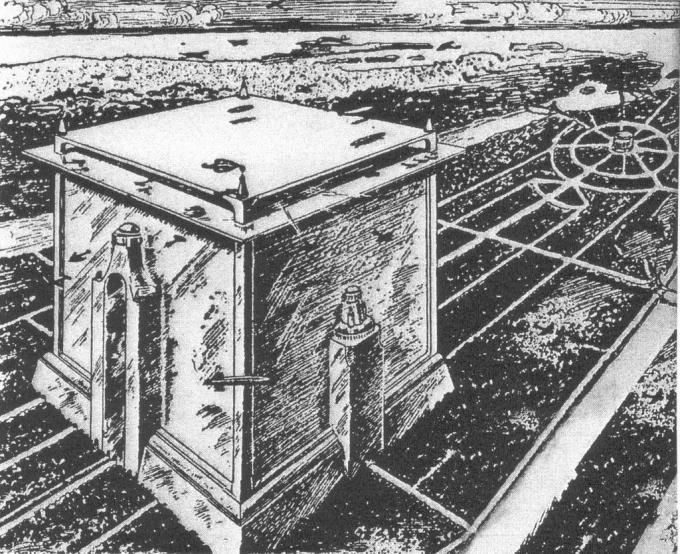 Город-куб на месте нью-йорка