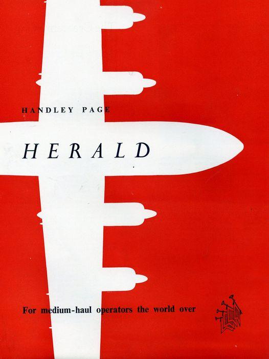 Handley page h.p.r.7 herald. технические характеристики. фото.