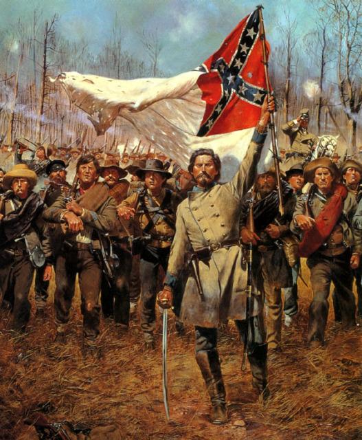 Хронология dixieland. мир победивших конфедеративных штатов америки