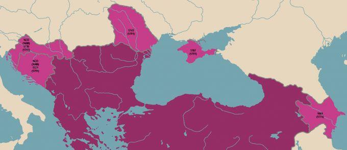 Хронология phoenix purpura. часть v - от константина xiii до феодора ii (1624-1798)