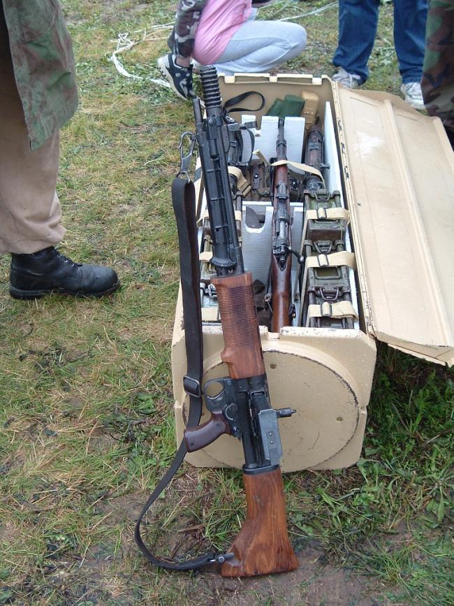 Идеальная винтовка «зеленых дьяволов» - автоматическая винтовка fg.42. германия