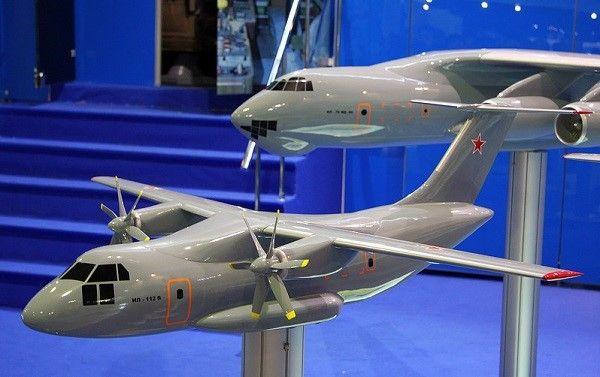 Ил-112в - транспортный самолет. фото. история.
