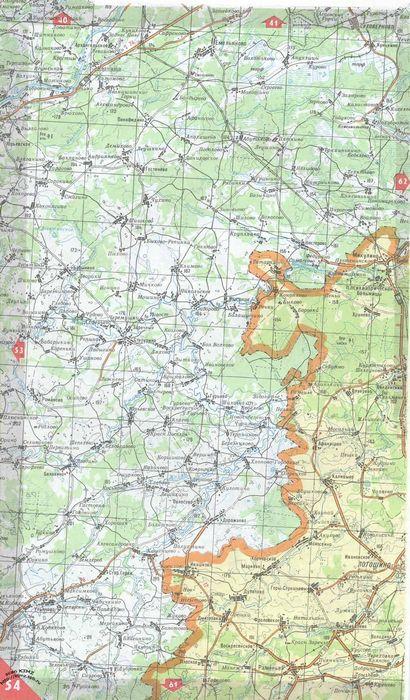 Информация о местности и само столкновение як-42. аэросвит. 1997 год.