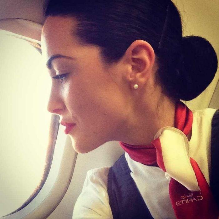 Интервью со стюардессой алина круминя авиакомпания etihad