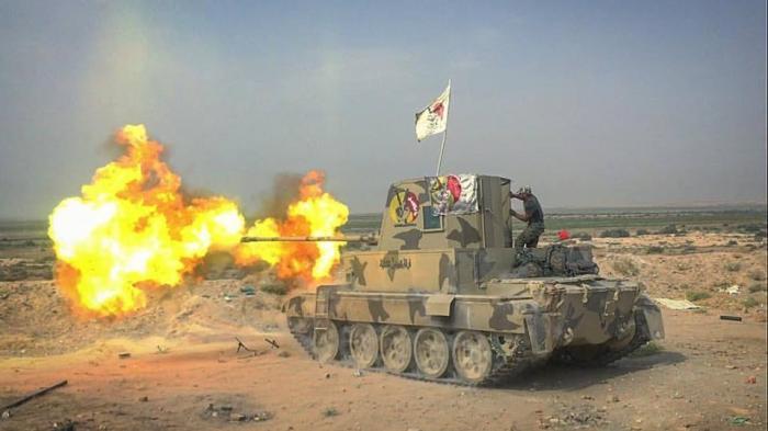 Иракский танк тип 57