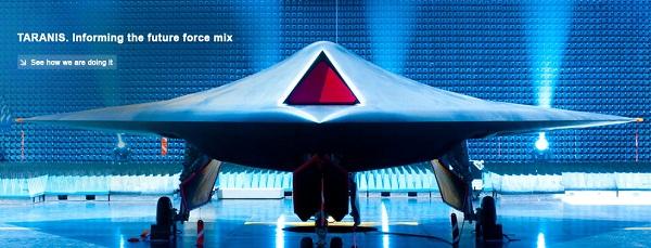 Испытания беспилотного летательного аппарата по проекту taranis