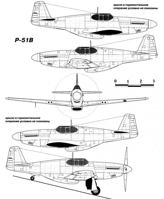 Испытано в германии. истребитель north american p-51