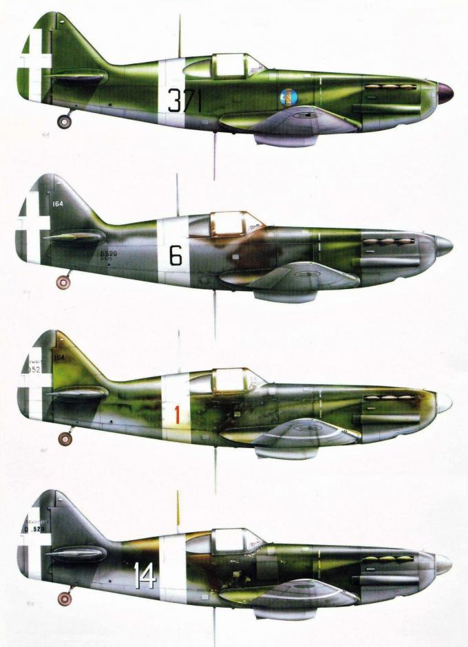 Испытано в италии. истребитель dewoitine de.520 часть 1