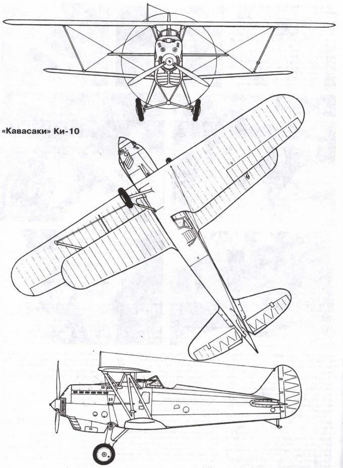 Испытано в ссср. истребитель kawasaki ki-10