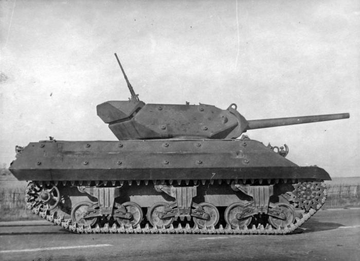 Испытано в ссср. истребитель танков gun motor carriage m10