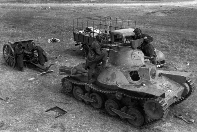 Испытано в ссср. легкий пехотный танк «ха-го»