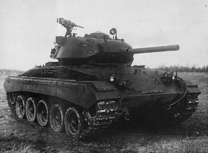 Испытано в ссср. легкий танк m24 chaffee
