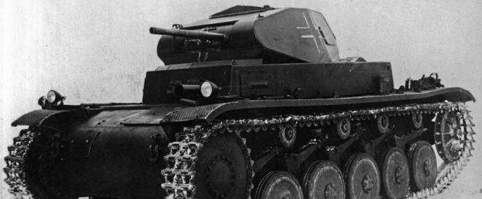 Испытано в ссср. легкий танк pz.kpfw.ii ausf.c