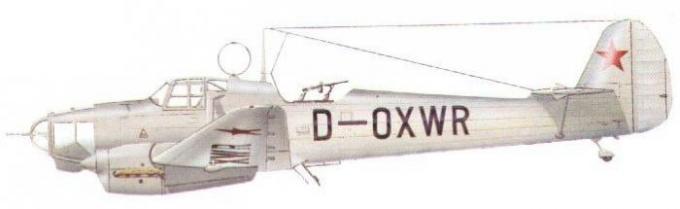Испытано в ссср. учебно-тренировочный самолет fw 58 «weihe»