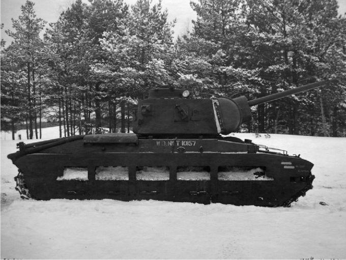 Испытано в ссср. вооружение пехотного танка matilda iii советской 76,2-мм пушкой ф-96