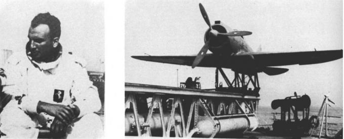 История испытаний катапультного истребителя reggiane re.2000c falco catapultabile