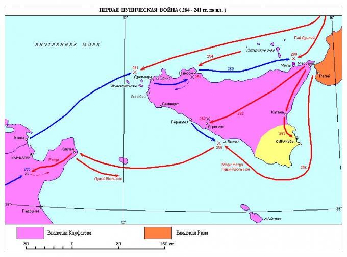 История карфагена. часть v - первая пуническая война