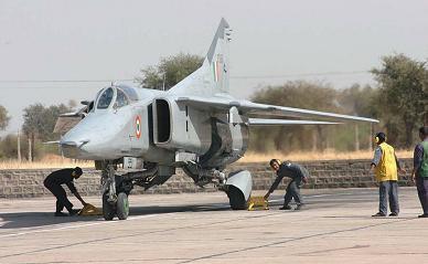 Истребитель-бомбардировщик миг-27мл «бахадур».