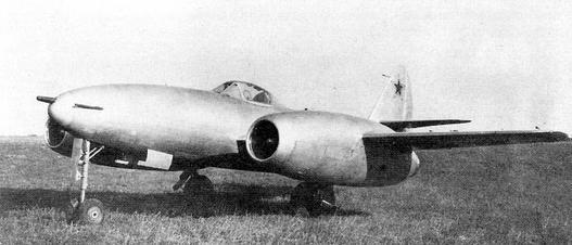 Истребитель-бомбардировщик су-11 (первый).