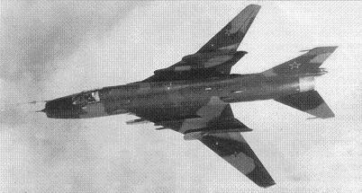 Истребитель-бомбардировщик су-17м3 (с-52).