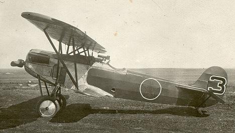 Истребитель fokker d.xi.