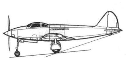 Истребитель гу-1.