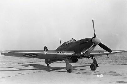 Истребитель hawker «hurricane» mk.ii.