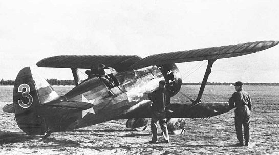 Истребитель и-15 (цкб-3).