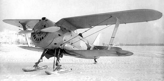 Истребитель и-153 «чайка».