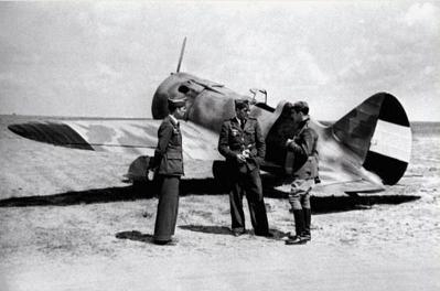 Истребитель и-16 тип 10.