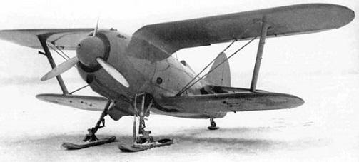 Истребитель и-190.