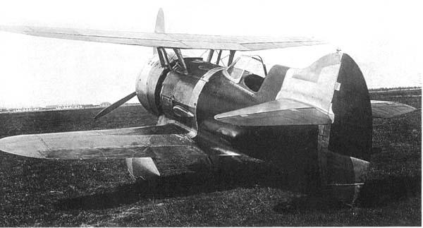 Истребитель и-207.
