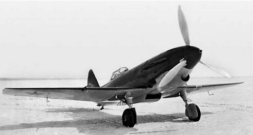 Истребитель и-21.