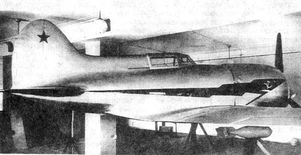 Истребитель и-220 (ис).