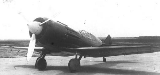 Истребитель и-28.