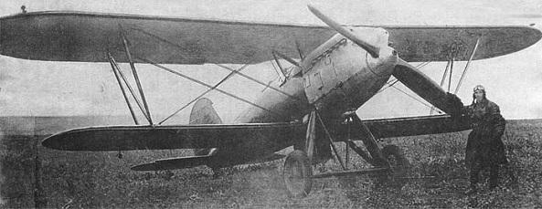 Истребитель и-3.