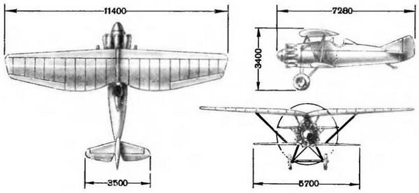 Истребитель и-4. фото. история. характеристики.
