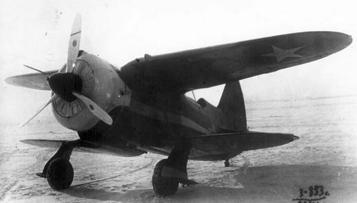 Истребитель ис-1 (-2).