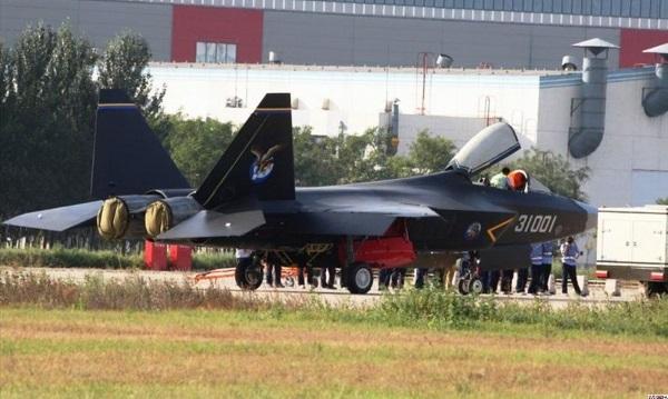 Истребитель j-31. китай. 5-е поколение. фото